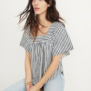 Madewell Texture & Thread Butterfly Top